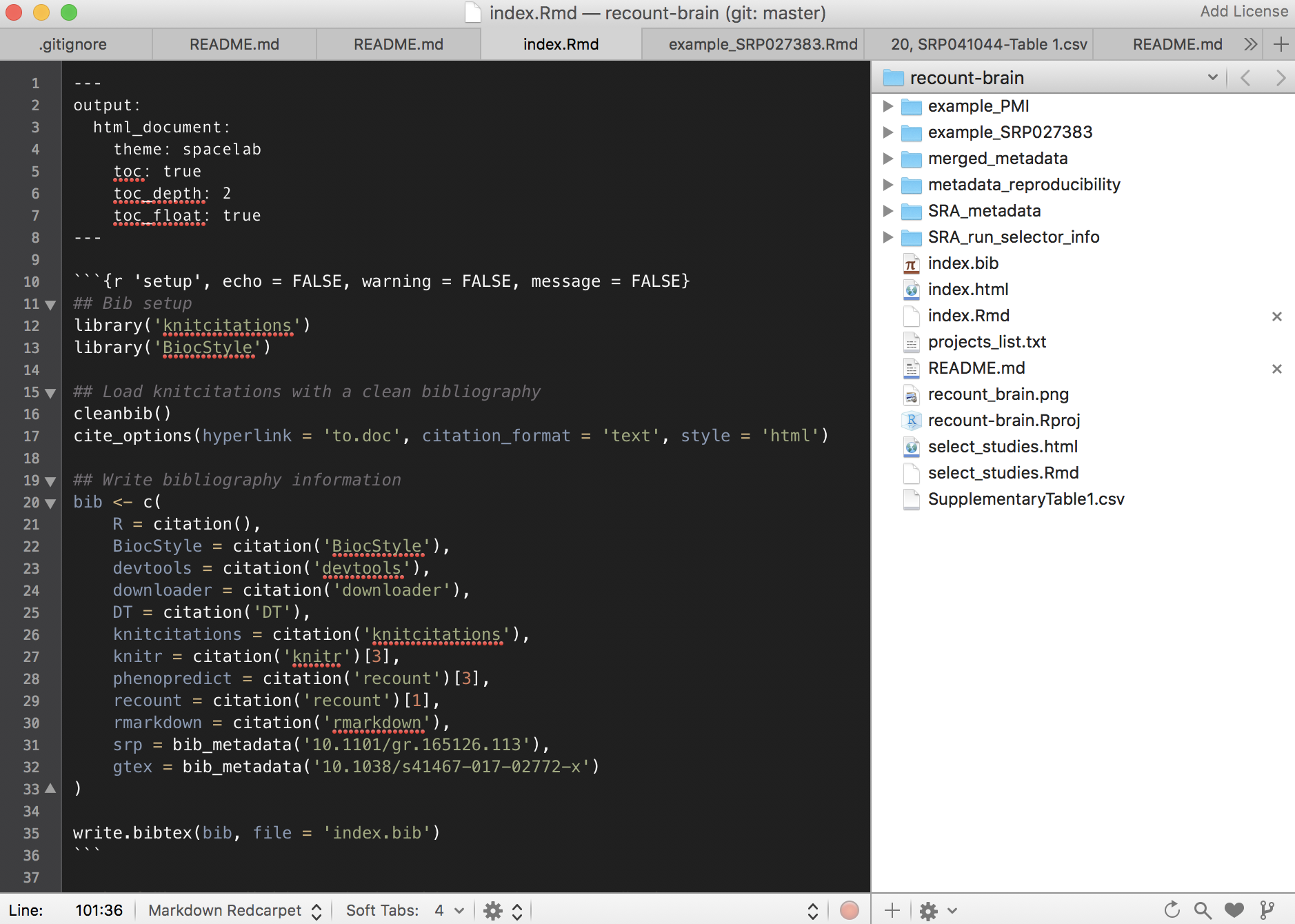 Textmate setup (Mac only)